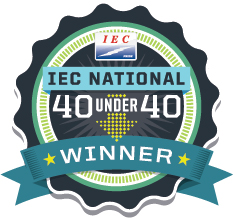 IEC 40 Under 40 Award – Brandon Berumen